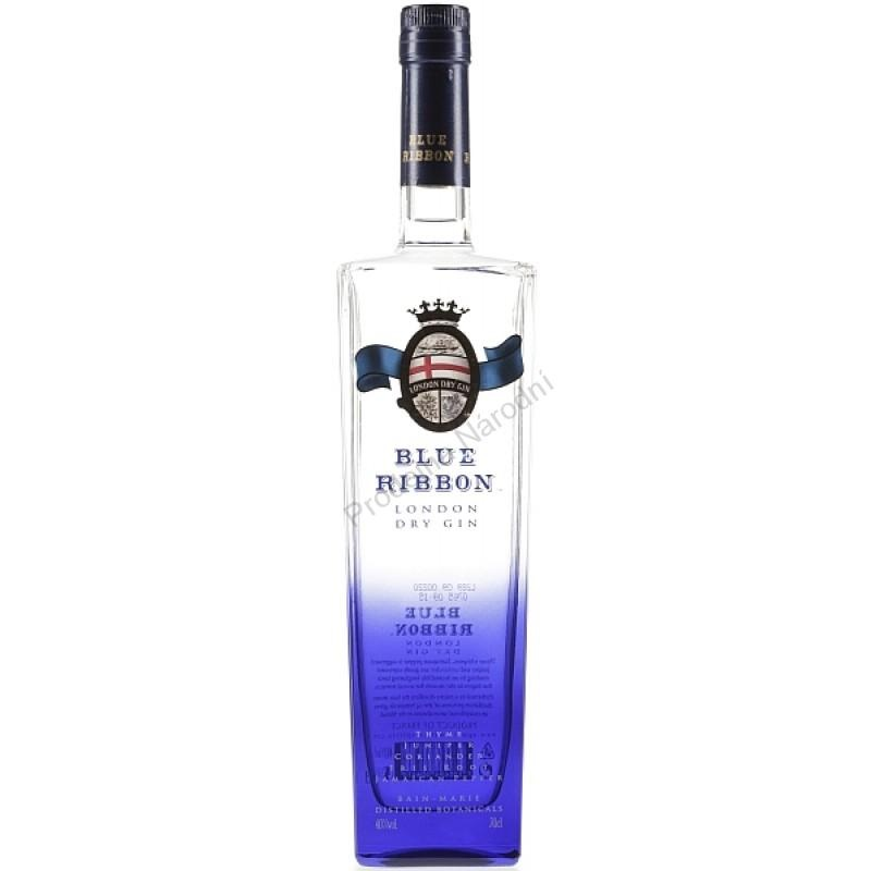 Promo facebook GIN BLUE RIBBON - vol. 40% 0,70L